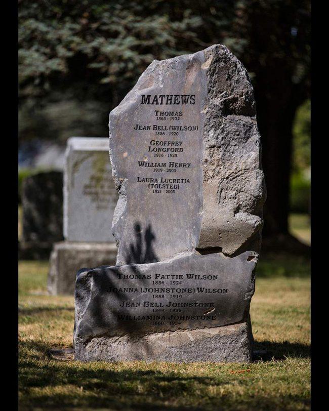 British Columbia basalt monument, Victoria, Vancouver Island
